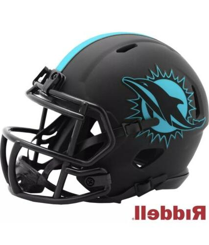 miami dolphins alt eclipse speed mini helmet