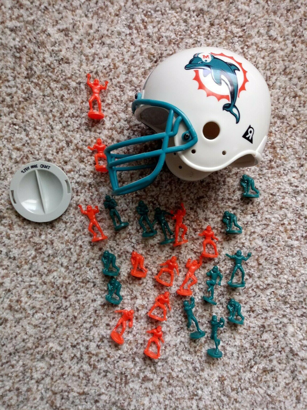 miami dolphins mini helmet with mini players