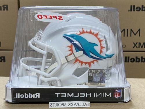 miami dolphins speed mini helmet 2018
