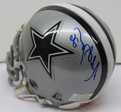 michael downs signed mini helmet