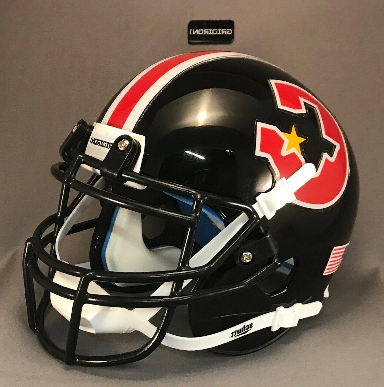 Mini helmet Black Facemask Clips with Screws