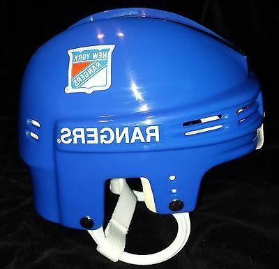 TDI Mini Helmet New York Rangers NY Light Blue Hockey
