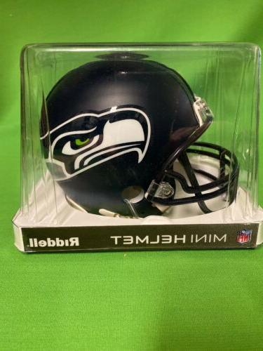 Riddell Helmet Seahawks New Clear FREE SHIPPING