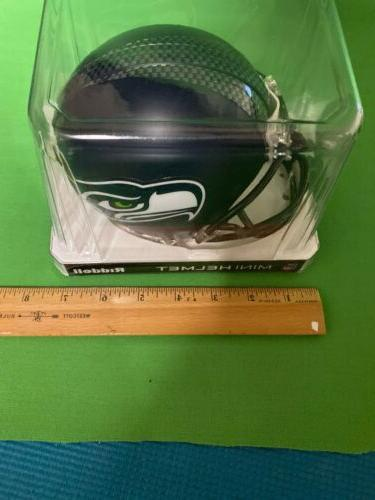 Riddell Mini Seahawks Face New In Clear FREE SHIPPING