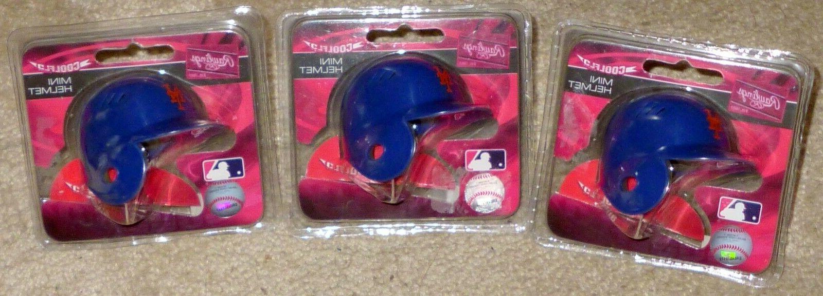 mlb baseball ny mets coolflo mini helmets