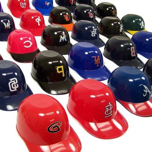 Rawlings MLB Official MLB 8oz Helmet Ice Snack Bowls