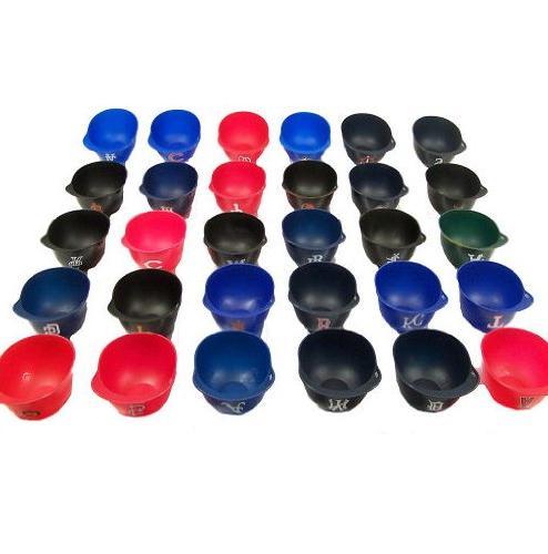 Rawlings MLB 8oz Mini Helmet Snack Bowls