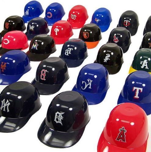 Rawlings MLB Official MLB 8oz Helmet Ice Cream Snack Bowls