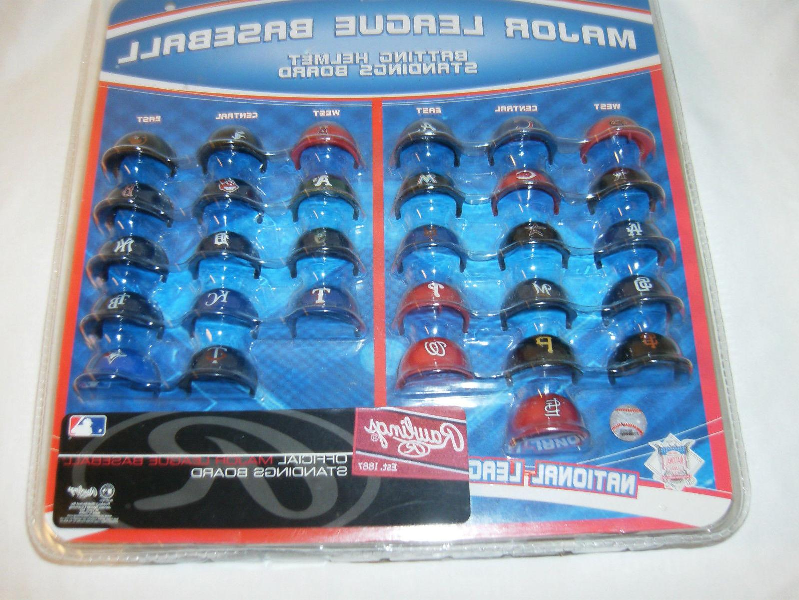 Mlb Official 1 5 Mini Baseball Batting Helmet Standings