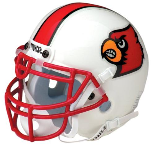 ncaa louisville collectible mini football