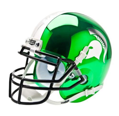 Schutt Michigan State Spartans Mini XP Authentic Helmet NCAA Licensed Michigan State Spartans Collectibles