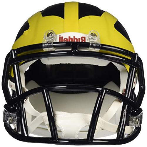 NCAA Michigan Speed Mini Helmet