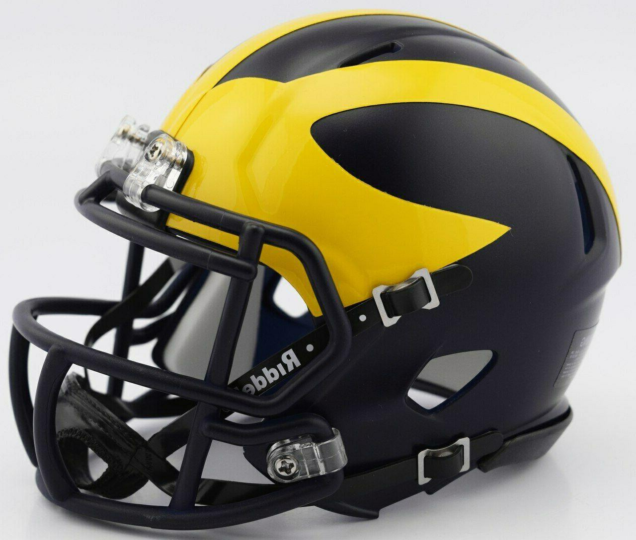 ncaa michigan wolverines speed mini