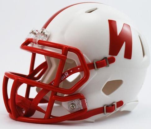 nebraska cornhuskers speed mini helmet