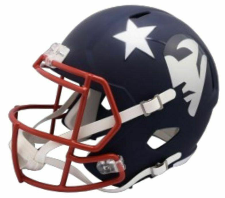 new england patriots amp alternate mini speed