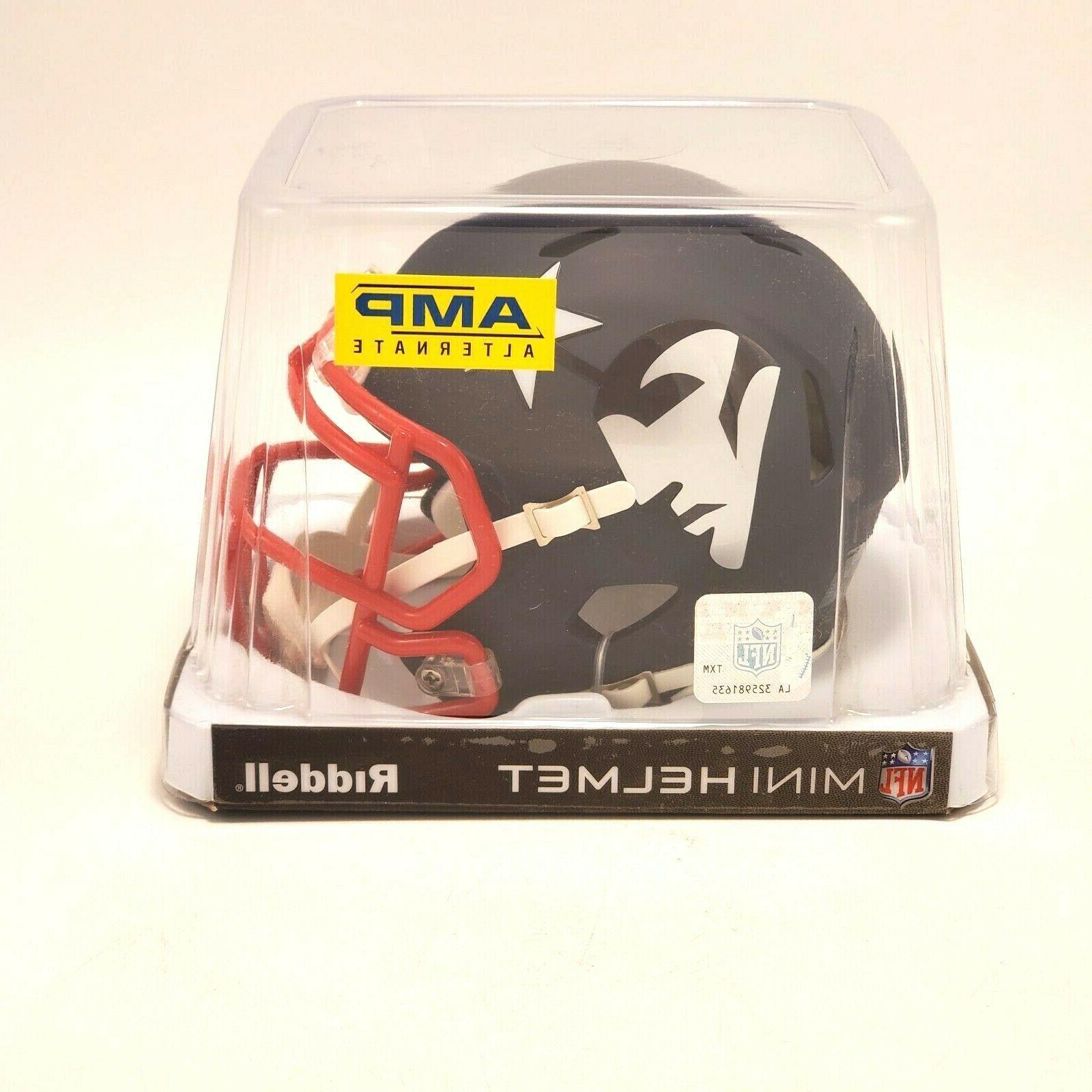 new england patriots mini football helmet amp