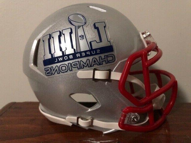 New England Super Bowl Champions Mini Football
