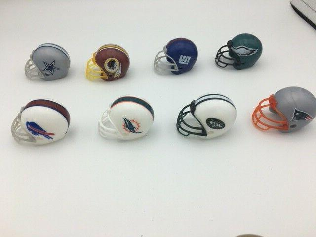 New Logos - Complete of NFL Mini Toppers