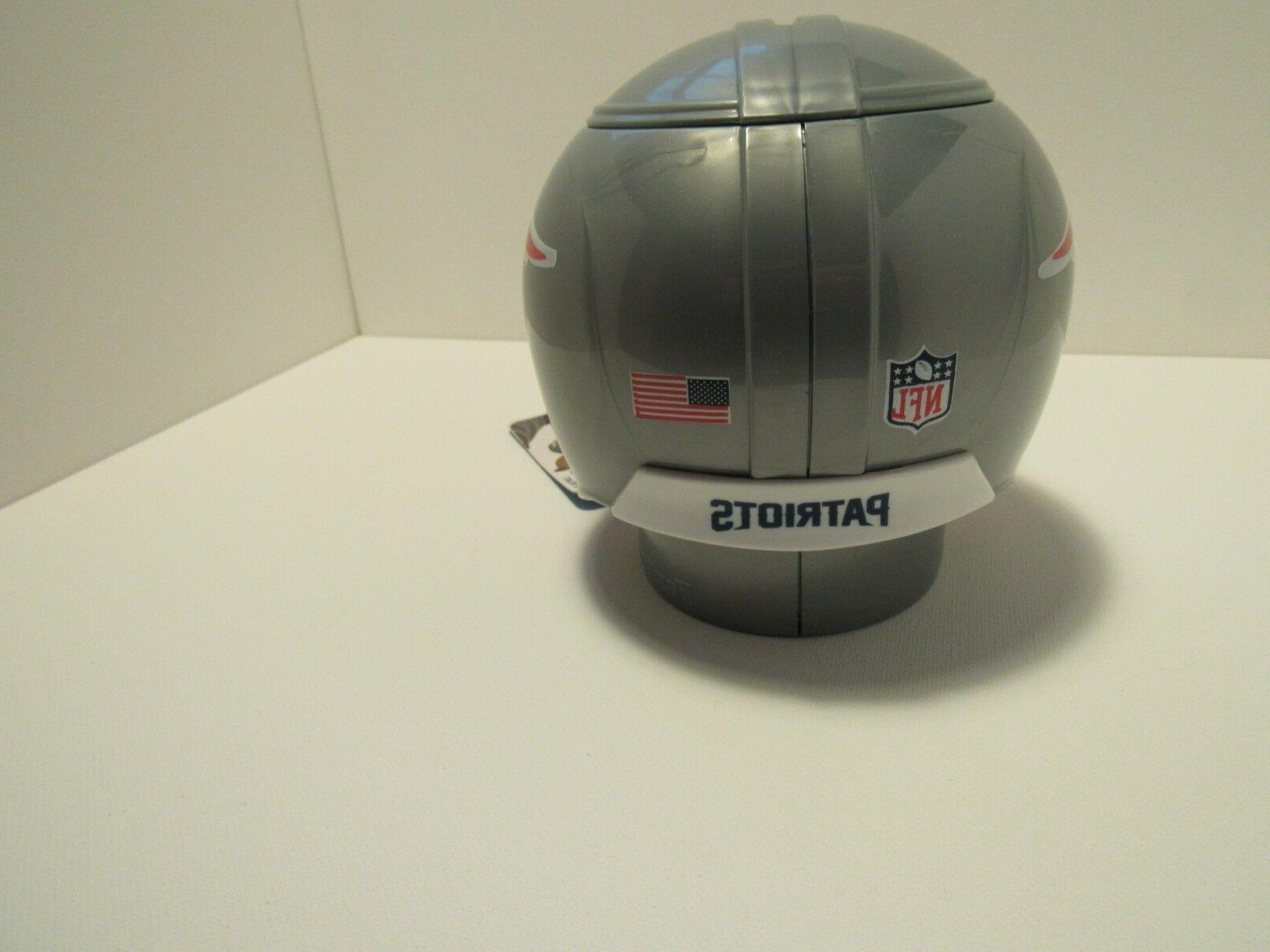 NEW NFL Patriots Mini Helmet Plastic Sports
