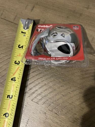 *NEW* Riddell NFL Oakland Raiders Helmet Chrome