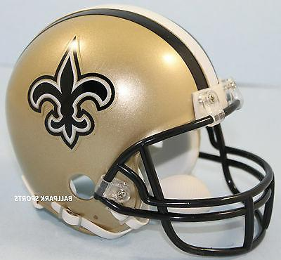 new orleans saints vsr4 mini helmet