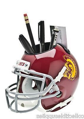 new usc trojans mini football helmet desk