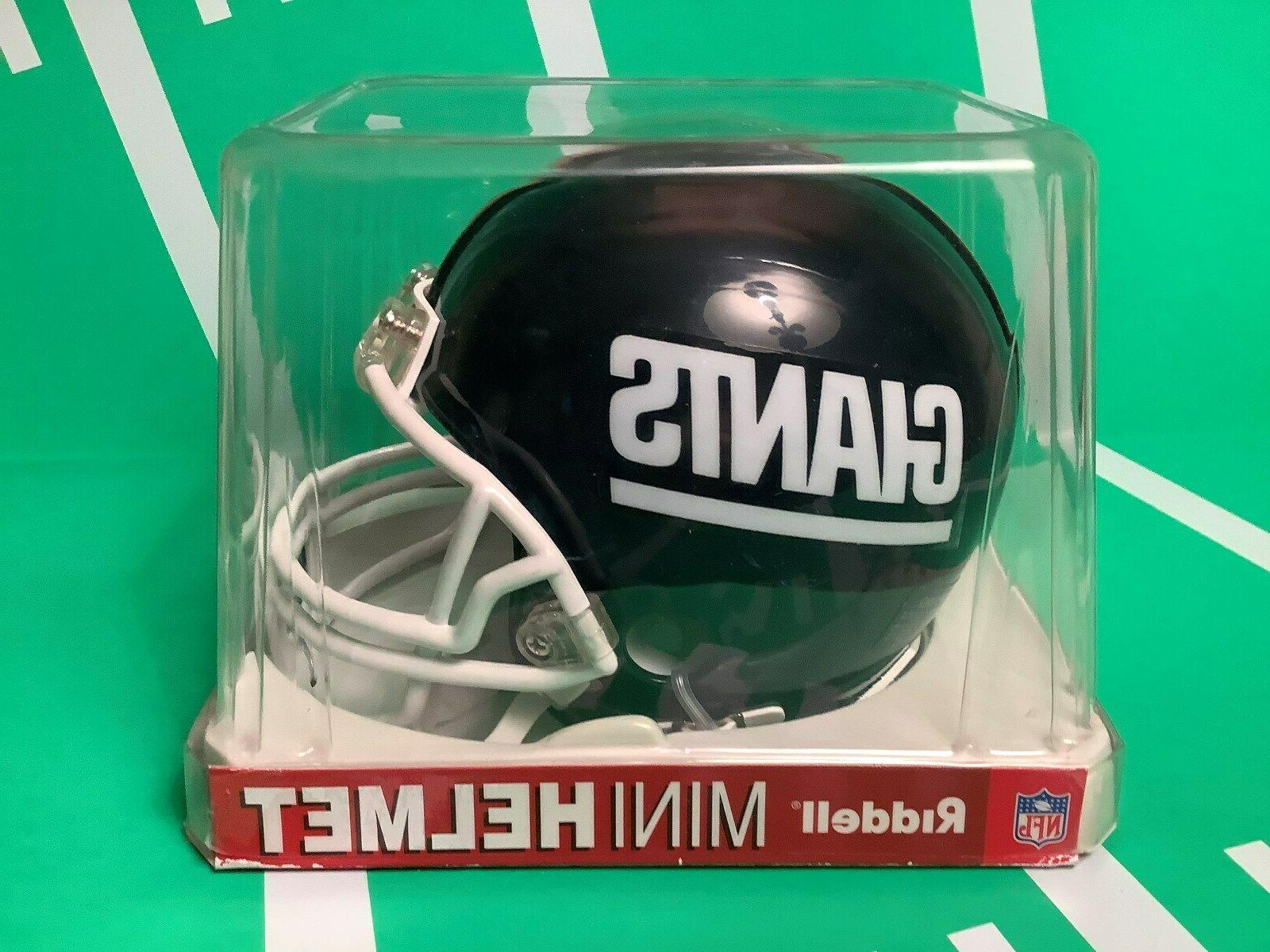 new york giants mini football helmet