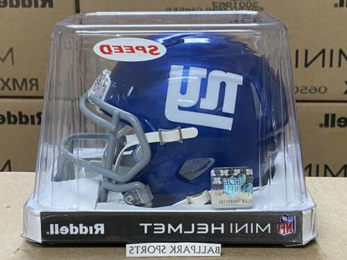new york giants speed mini helmet