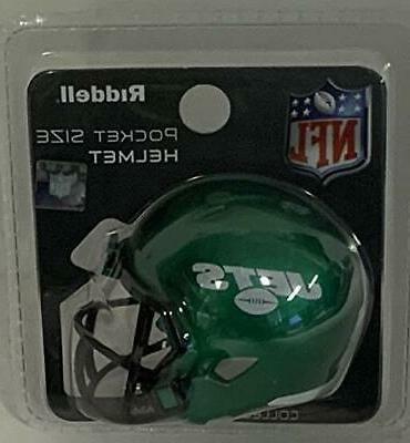 New NFL Riddell Revolution Speed Mini Pocket Pro Helmet