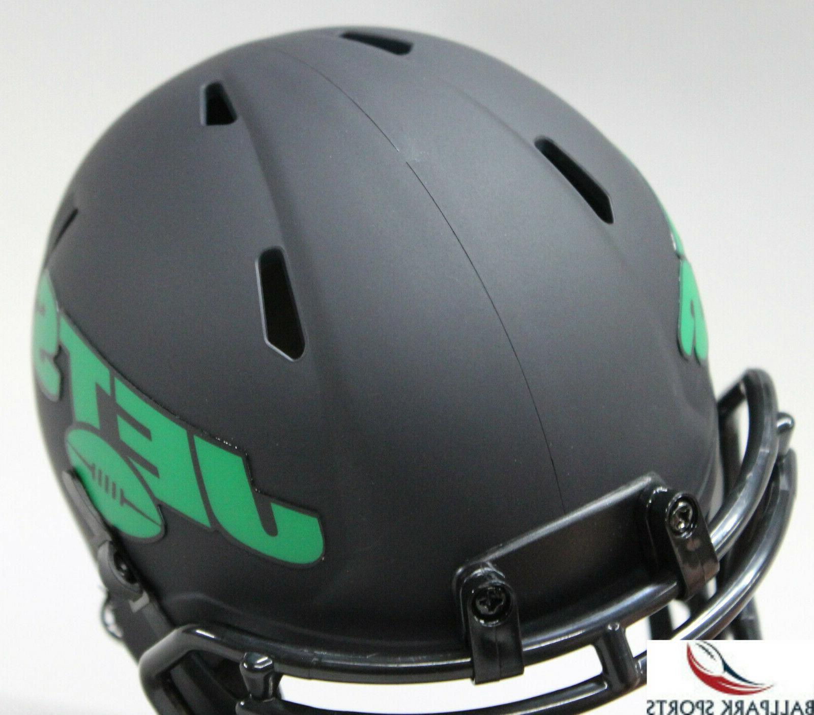 NEW YORK JETS Black Riddell Mini Helmet