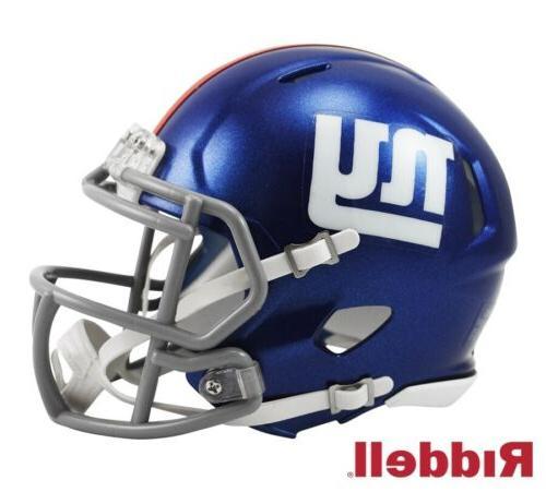 new york ny giants speed mini football