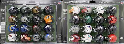 NFL Football 32 Team Mini Helmet Standings Tracker Display S