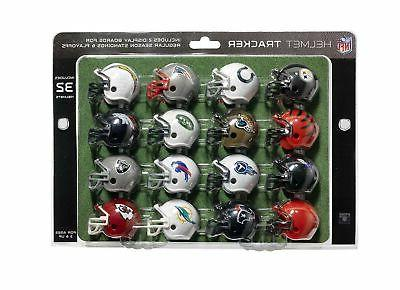 nfl football helmet playoff tracker