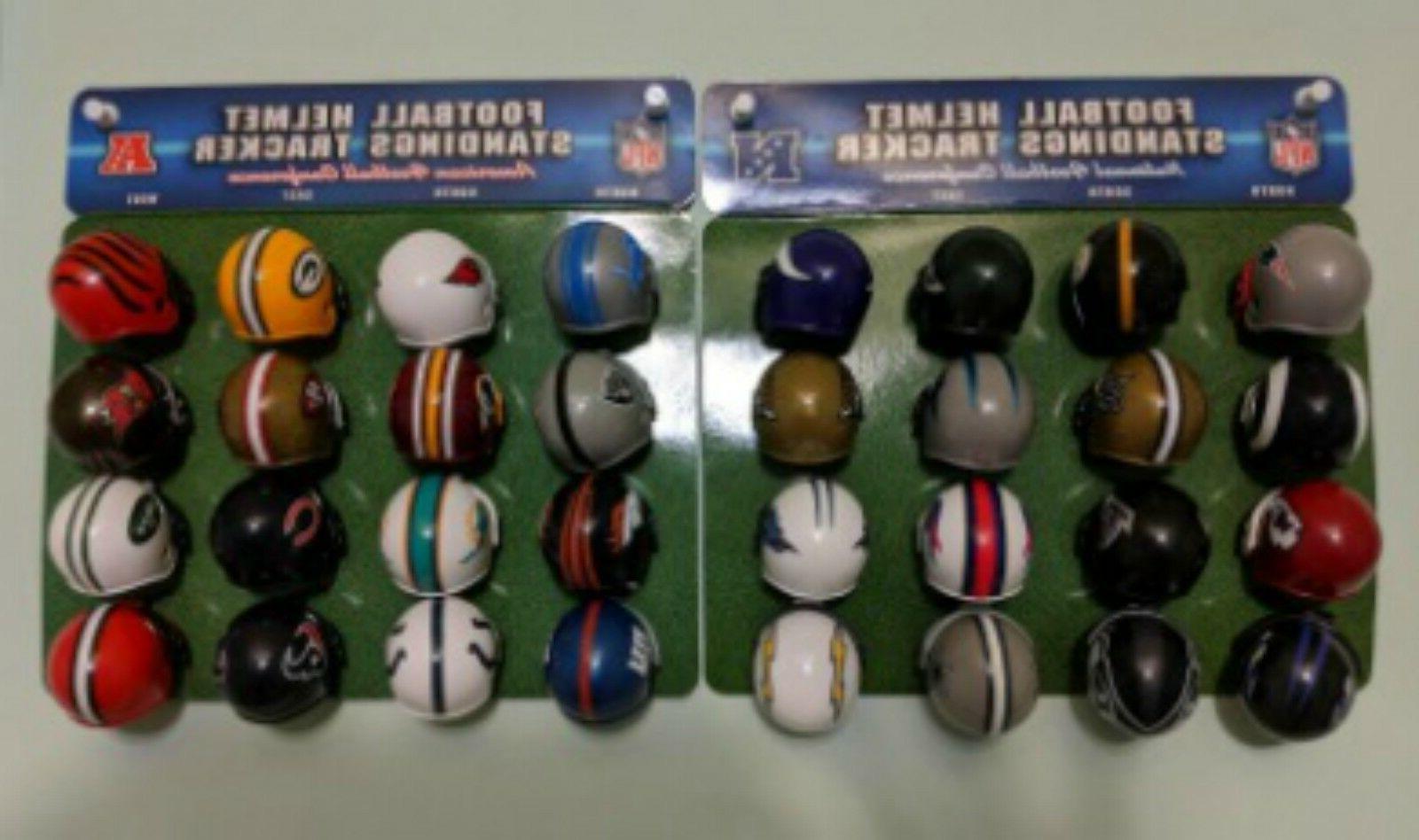 NFL Mini AFC NFC Tracker