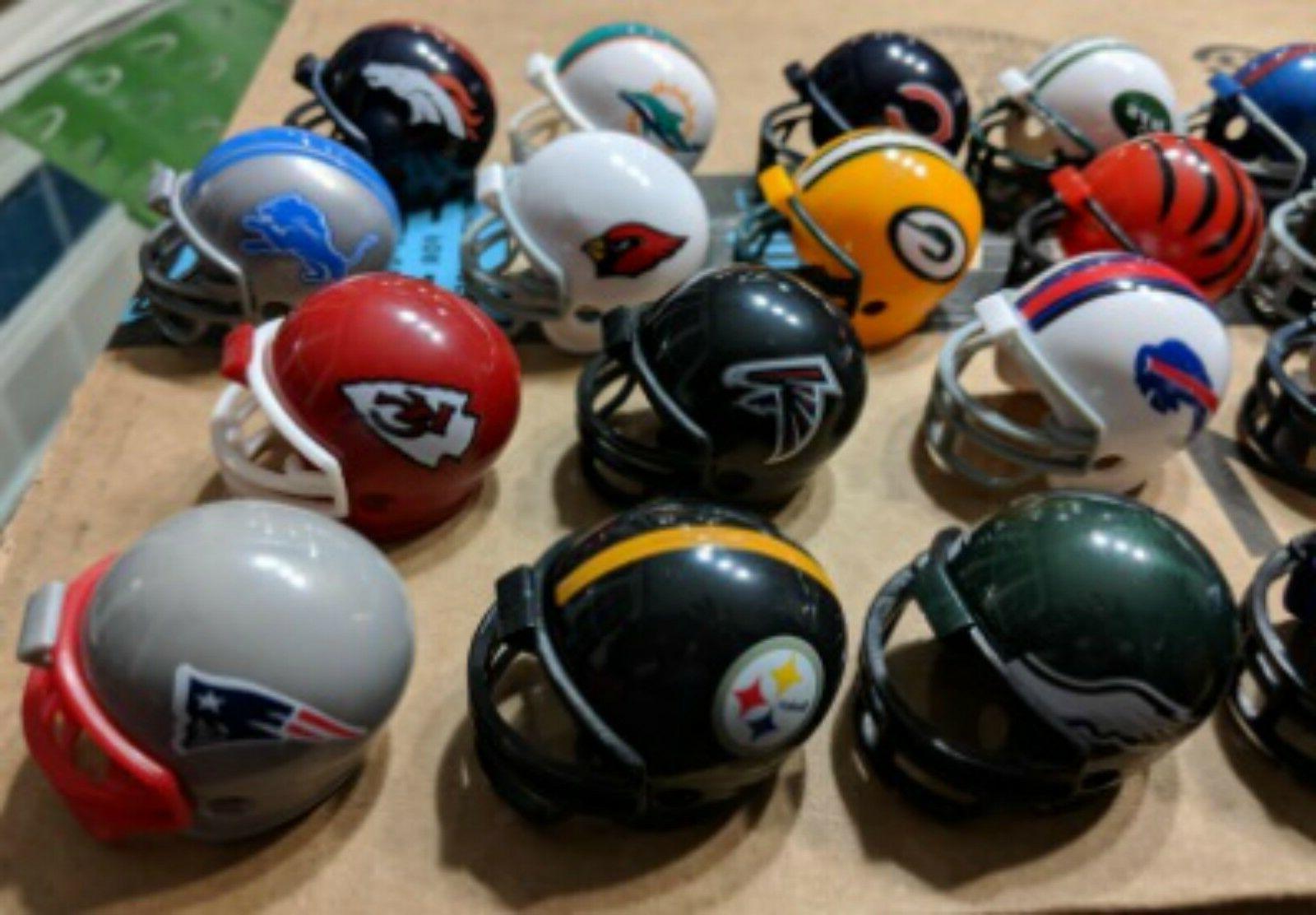 NFL Football Helmet, AFC Bowl NFC And Tracker