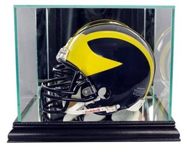 65e99f68 Perfect Cases NFL Mini Football Helmet Glass Display