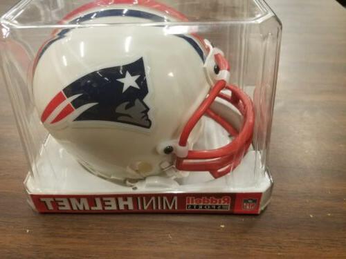 Nfl Mini Helmet New England Patriots Bowl XXXVI 2002