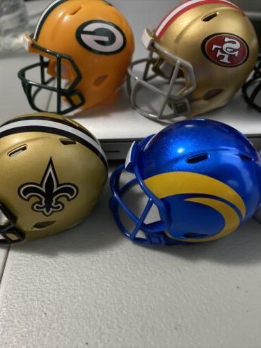 NFL Pocket Pro Speed Helmets Football