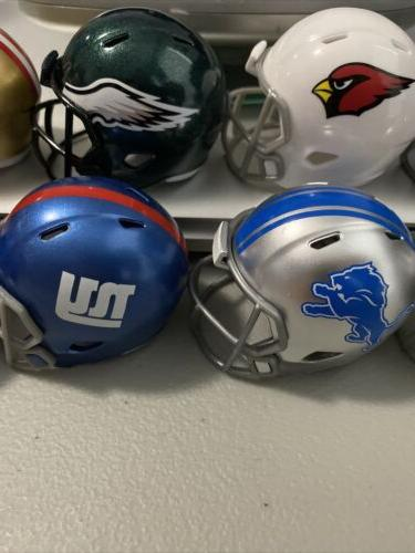 NFL Riddell Mini Pocket Pro Speed Helmets Football Choose Your