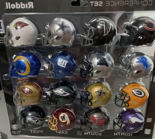 nfl mini micro pocket pro speed helmets
