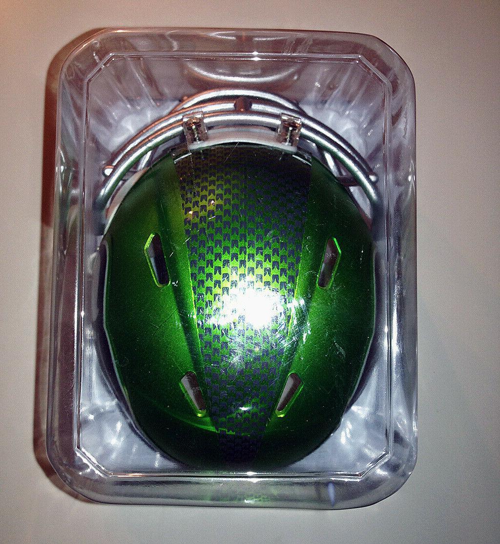 Riddell Seahawks Alternate Blaze Speed Mini Helmet New