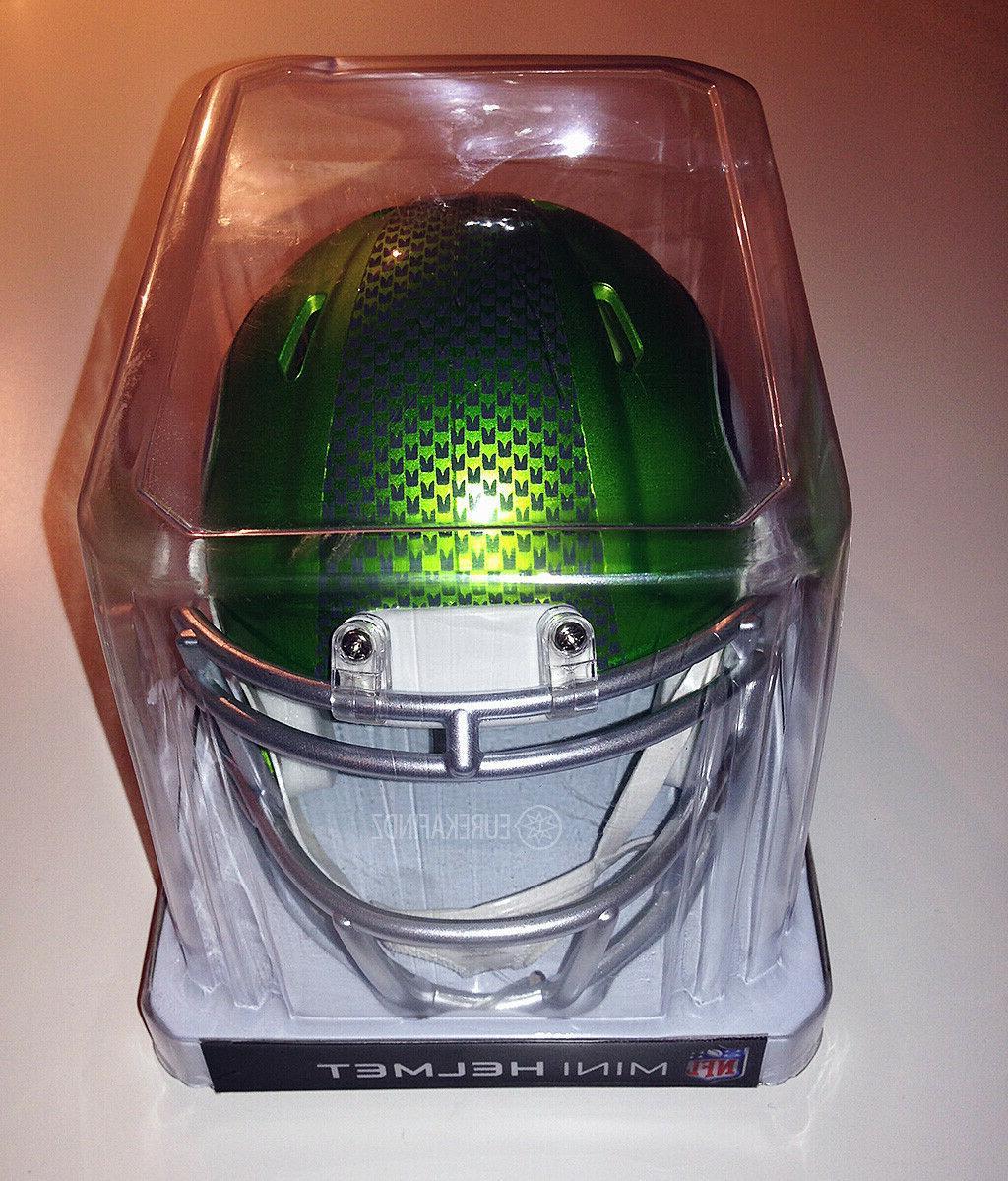 Riddell NFL Seahawks Alternate Speed Helmet New