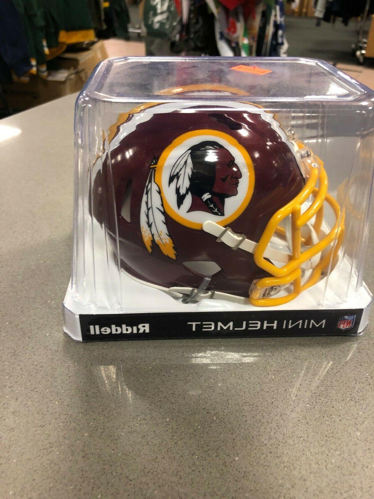 Riddell Mini Helmet Redskins