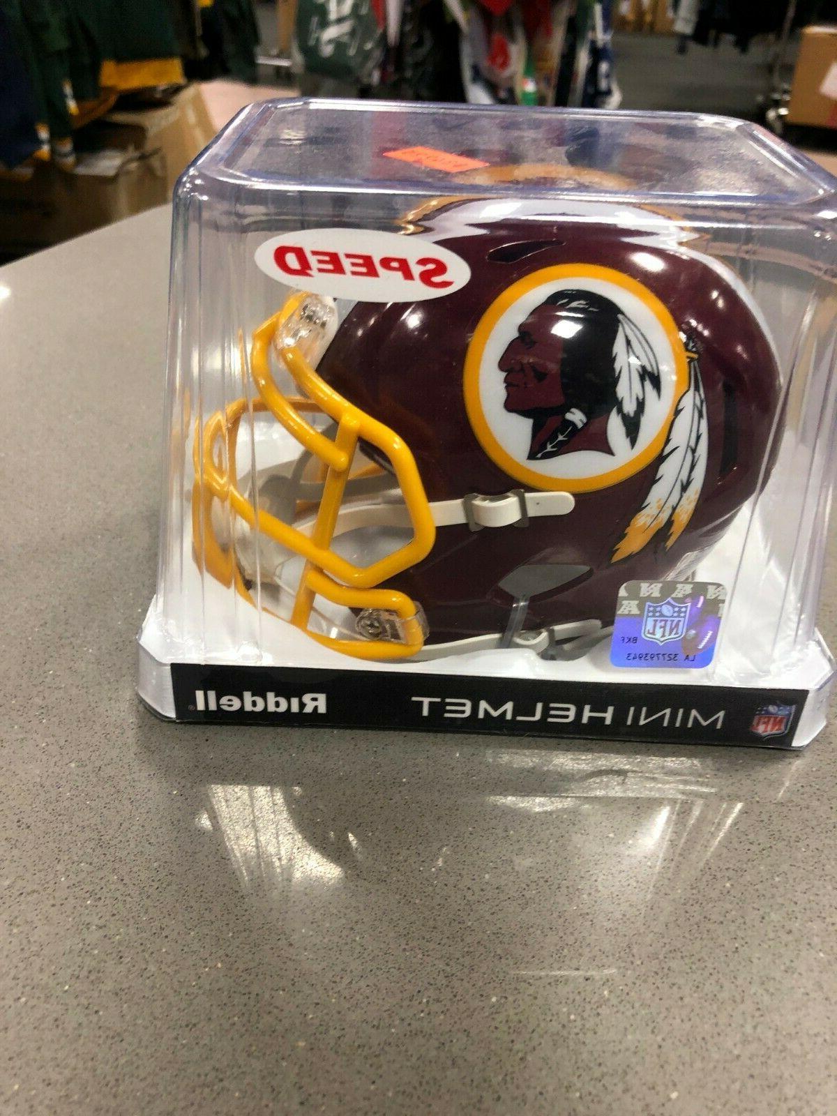 nfl speed mini helmet washington redskins