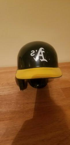 Oakland Athletics Baseball Rawlings Replica Mini Helmet on S