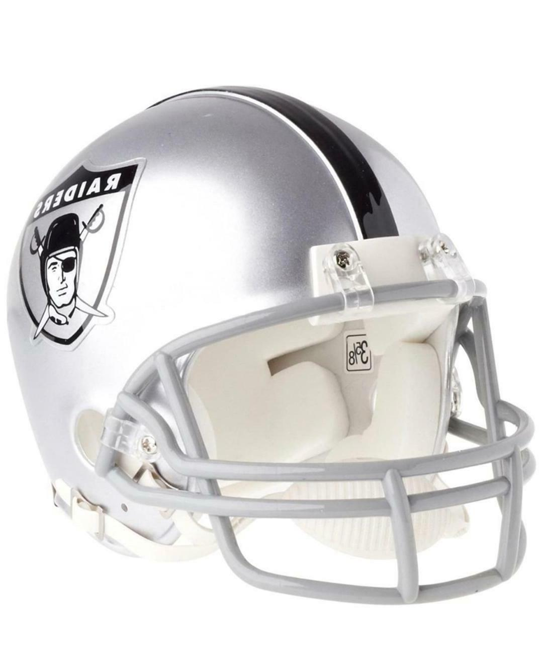 oakland raiders nfl mini helmet