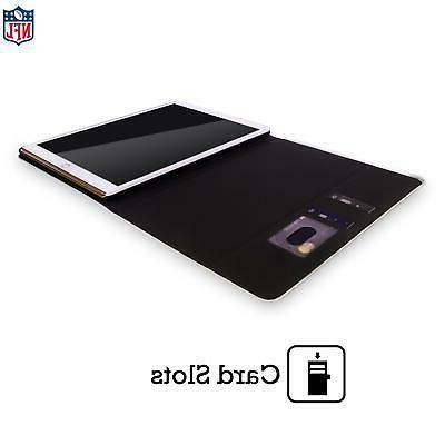 OFFICIAL NFL 2019/20 BUFFALO BILLS LEATHER BOOK CASE COVER iPAD