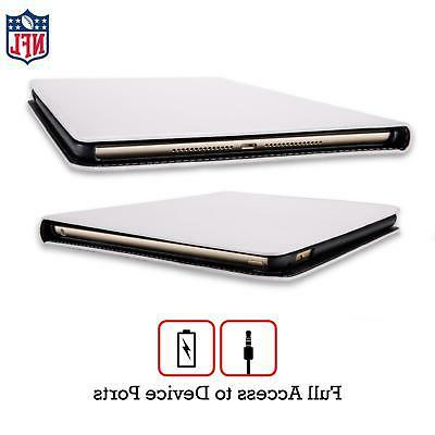 OFFICIAL LOGO LEATHER BOOK WALLET CASE FOR iPAD