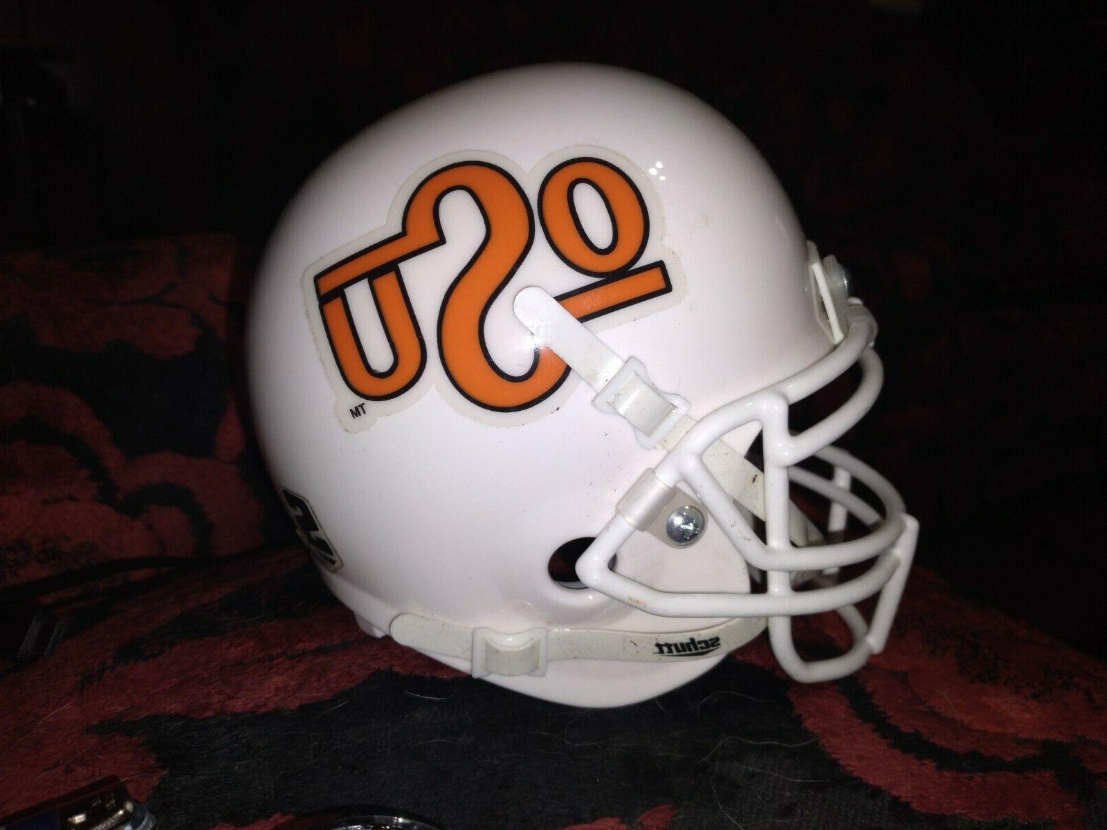 oklahoma state university cowboys mini helmet loose