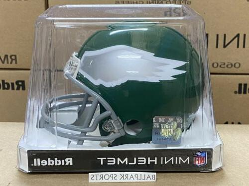 philadelphia eagles 1974 95 throwback riddell vsr4